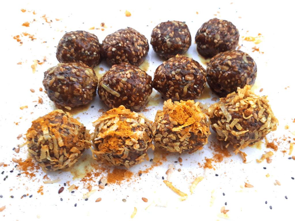 , Nia Pure Golden Turmeric Energy balls, Nia Pure Nature
