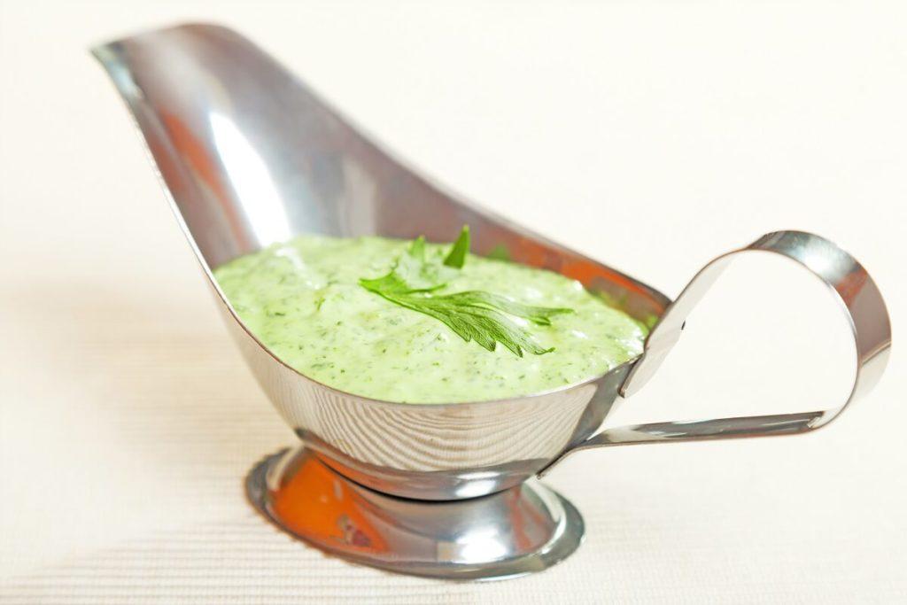 , Creamy salad dressing with Moringa, Nia Pure Nature